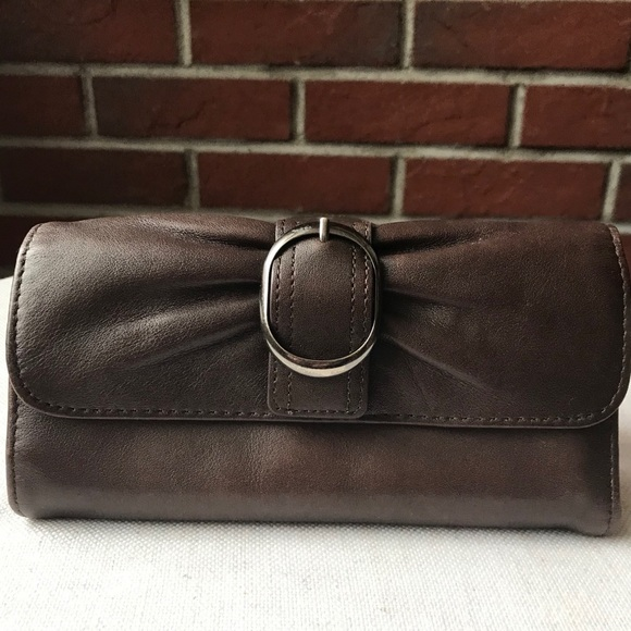 BROWN  REAL LEATHER WALLET